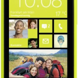 HTC 8X 8GB Unlocked GSM 4G LTE Dual-Core Windows 8 Smartphone – Lime Yellow – AT&T – No Warranty