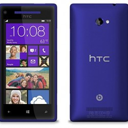 HTC C625b 8X LTE Unlocked Smartphone with 8 MP Camera, 8GB storage, 4.3-Inch HD Display and Beats Audio (Blue)