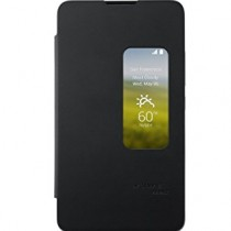 HUAWEI Ascend Mate 2 (including MT2-L03) Flip Cover Case/Cover with Visual Window – Black