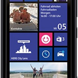 Nokia Lumia 920 32GB Unlocked 4G LTE Windows Smartphone w/ PureView Technology 8MP Camera – Black