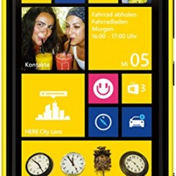 Nokia Lumia 920 32GB Unlocked GSM 4G LTE Windows 8 OS Smartphone – Yellow – AT&T – No Warranty
