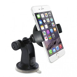Pamalo Easy Installable Car Phone Mount, Good for iPhone 6/5s/5c/4s/4, Samsung Galaxy S5/S4, Amazon Fire Phone, HTC One: Windshield Dashboard Car Mount Holder, Great Cell Phone Cradle